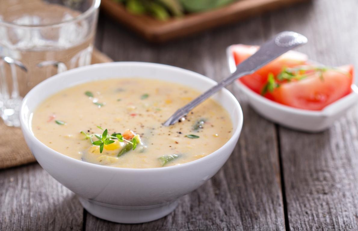 Panera Summer Corn Chowder Recipe  ve arian corn chowder panera