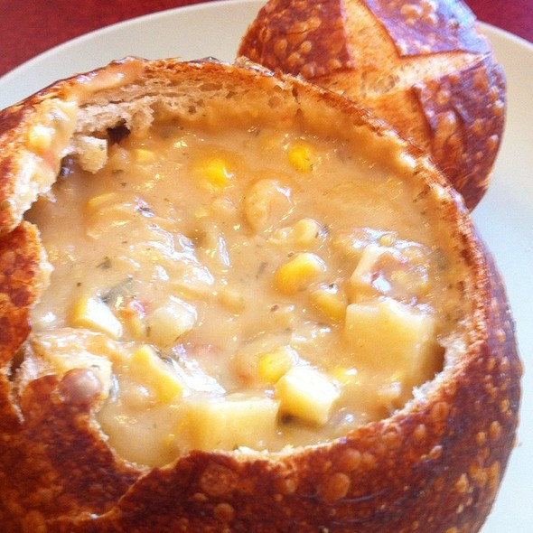 Panera Summer Corn Chowder Recipe  Terry Schooler Foodspotting