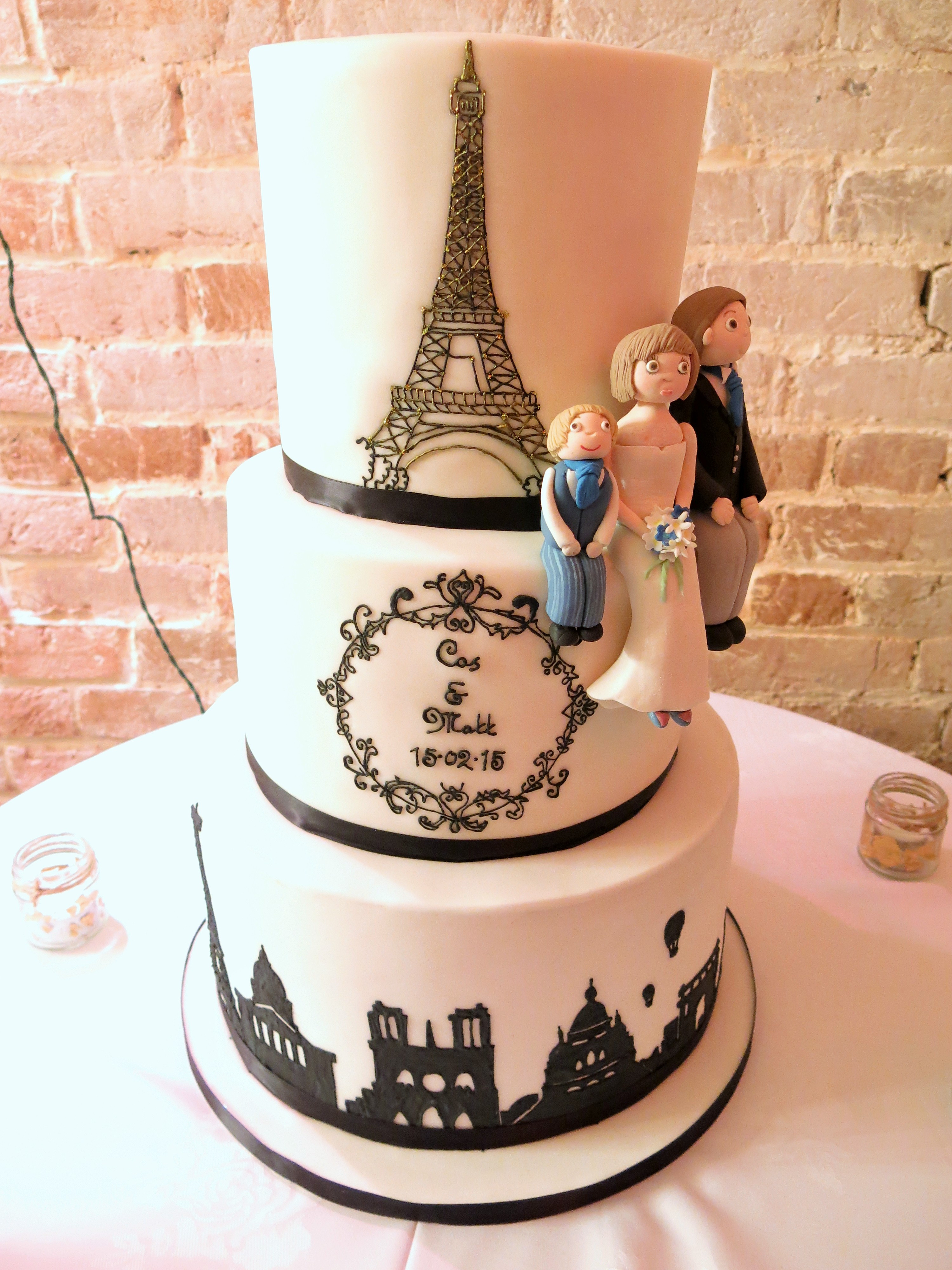 Paris Wedding Cakes  Cakery News & Blog Cakes Made In Norfolk
