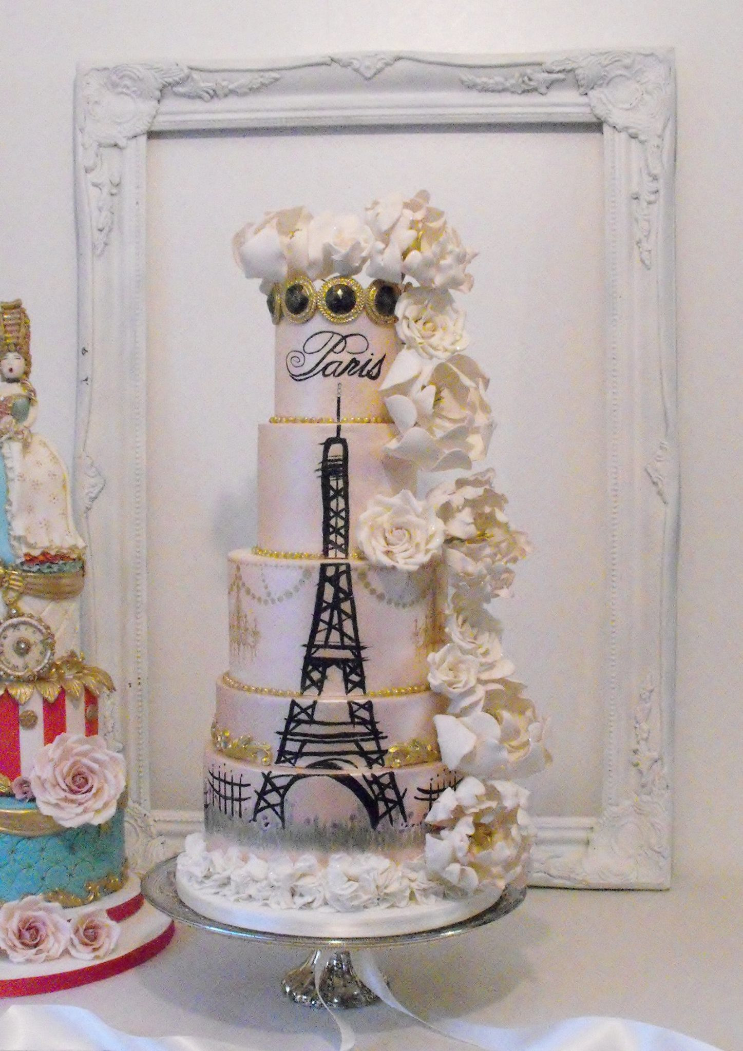 Paris Wedding Cakes  Wedding cakes paris idea in 2017