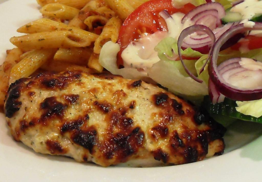 Parmesan Cheese Healthy  Healthy Greek Yogurt and Parmesan Cheese Chicken Recipe