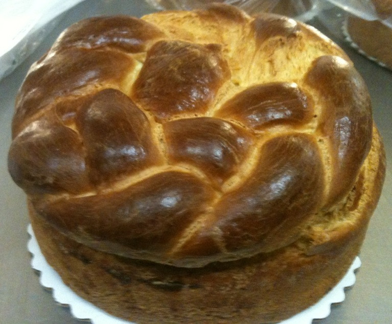 Pascha Easter Bread  Thursday Countdown to Easter