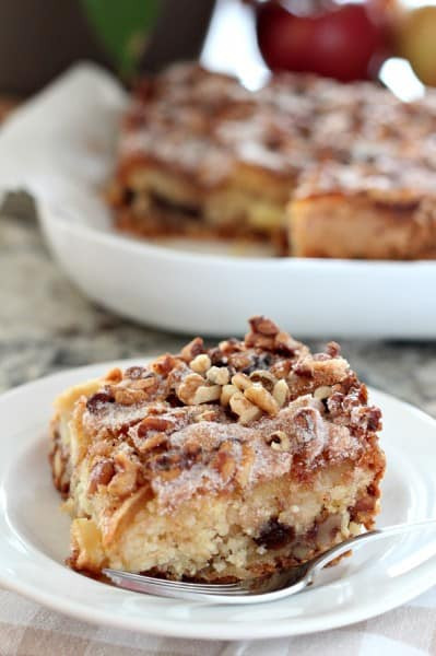 Passover Apple Cake  Passover Apple Cake