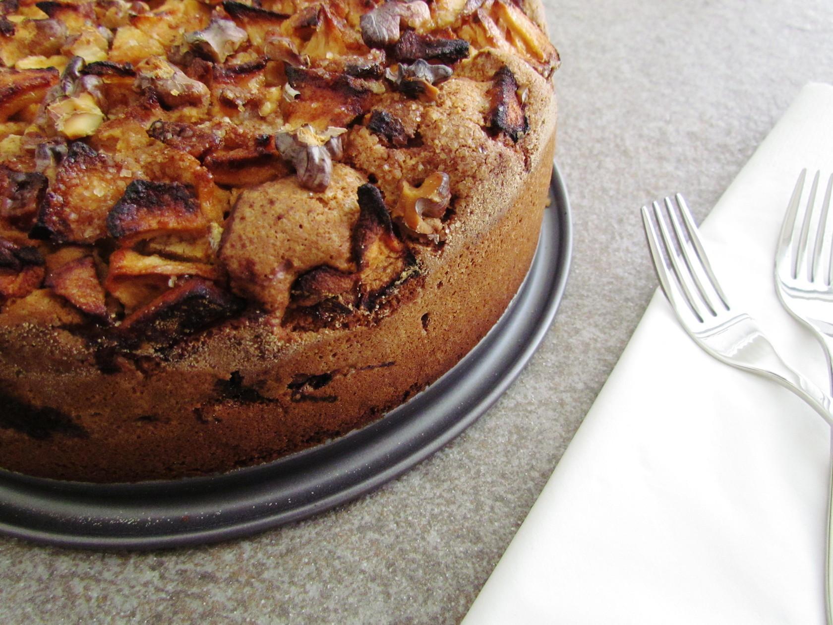 Passover Apple Cake  gâteau de pessah aux pommes et noix – Savormania