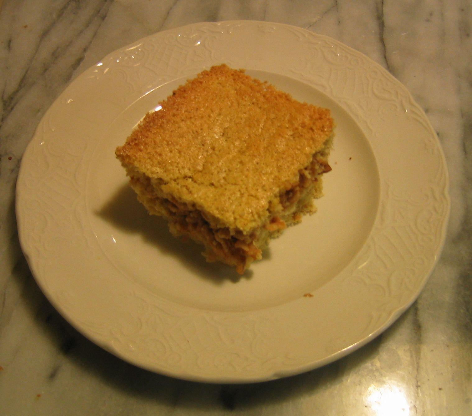Passover Apple Cake  Minka Cooks Passover Apple Cake