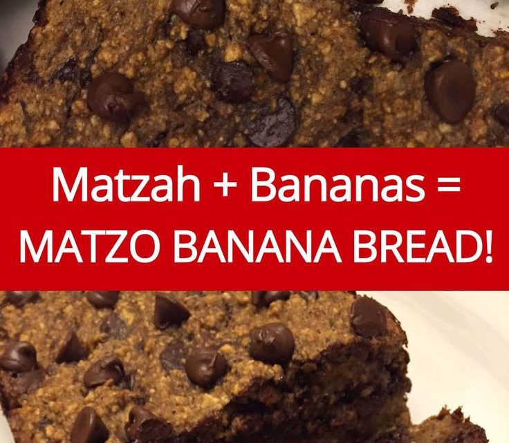 Passover Banana Bread  Matzo Meal Banana Bread Recipe from MelanieCooks
