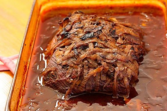 Passover Beef Brisket Recipe  Potluck Parties Passover Big Girls Small Kitchen