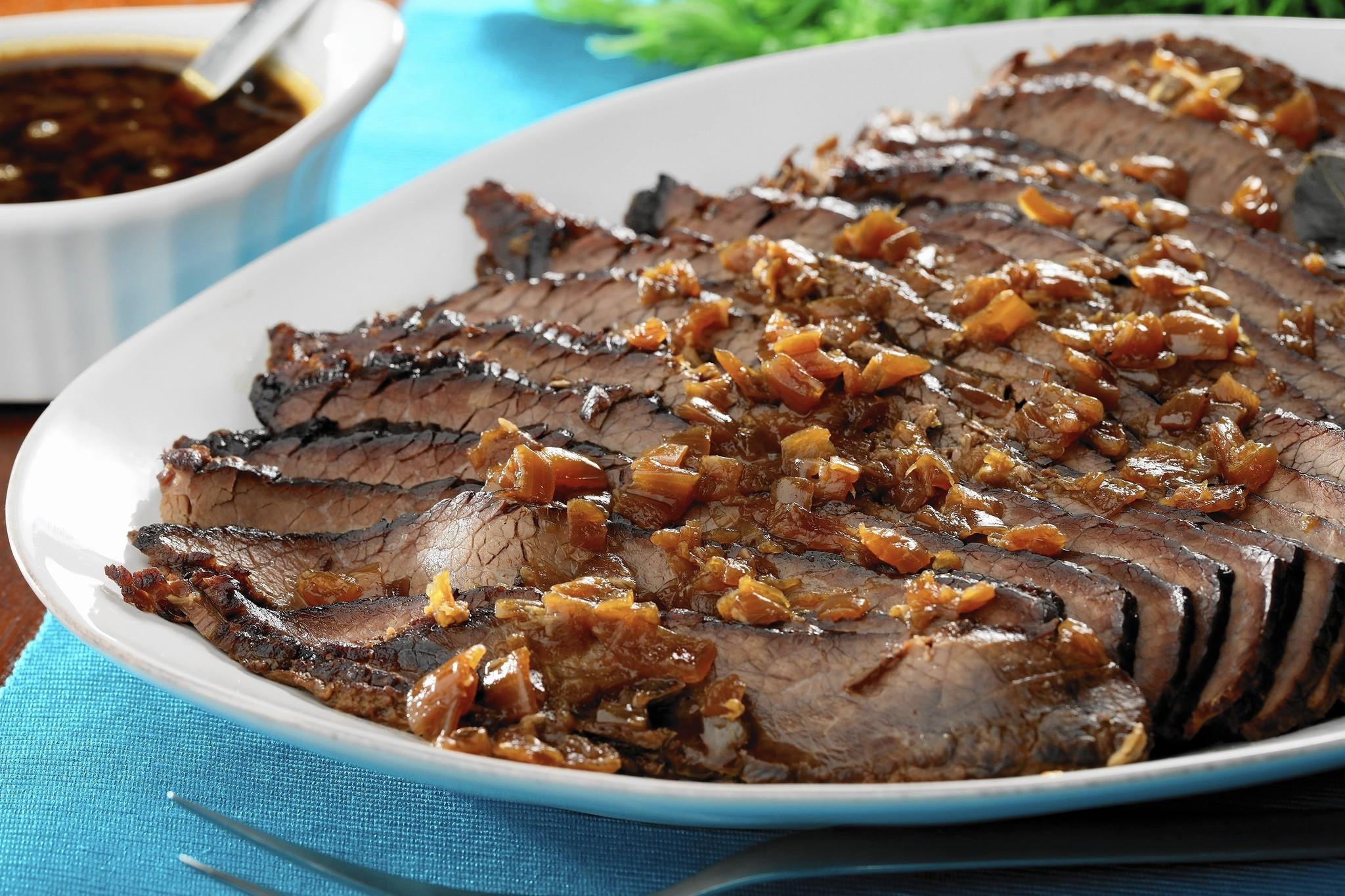 Passover Beef Brisket Recipe  slow cooker brisket passover
