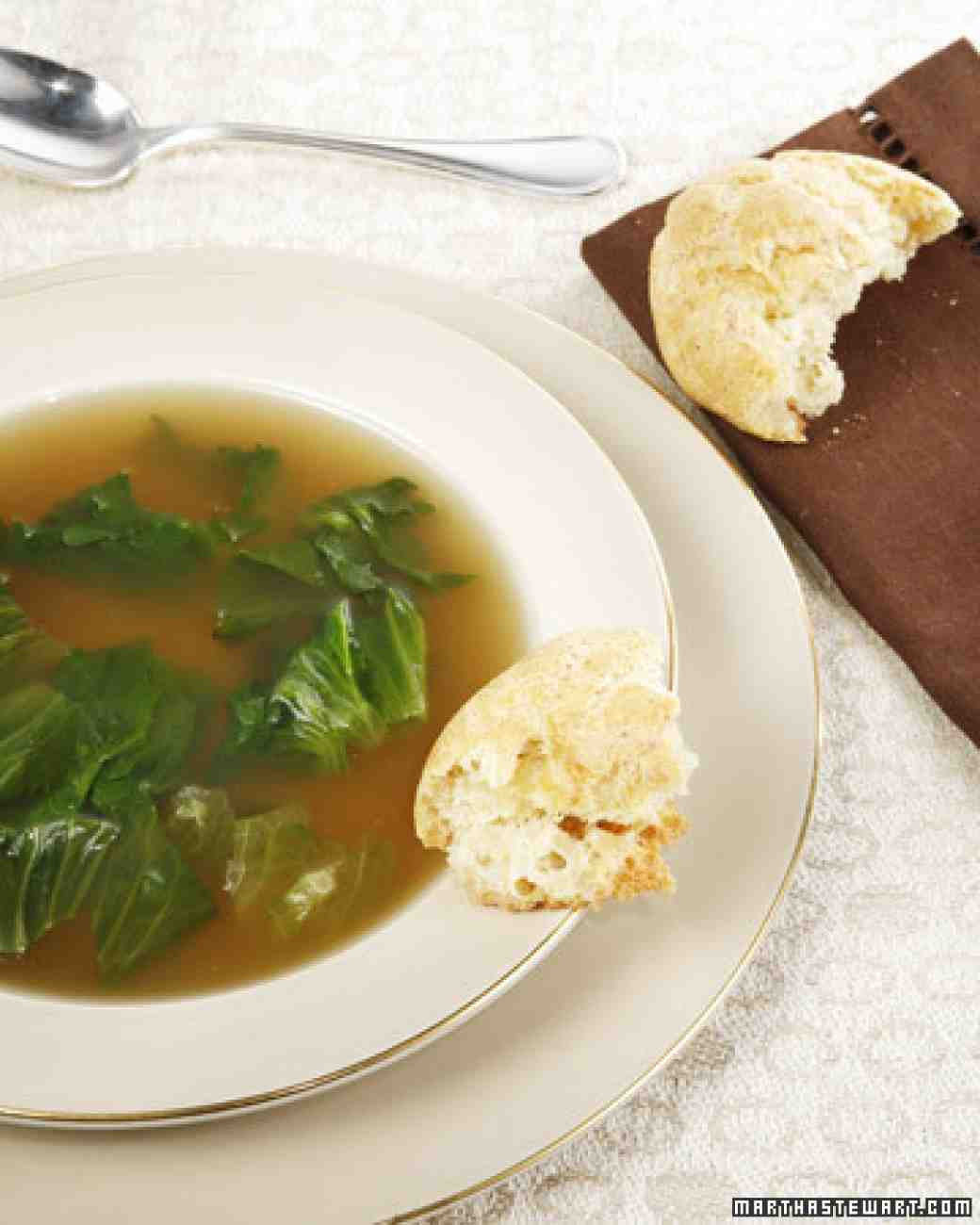 Passover Chicken Soup  My Mother s Chicken Escarole Soup Recipe & Video