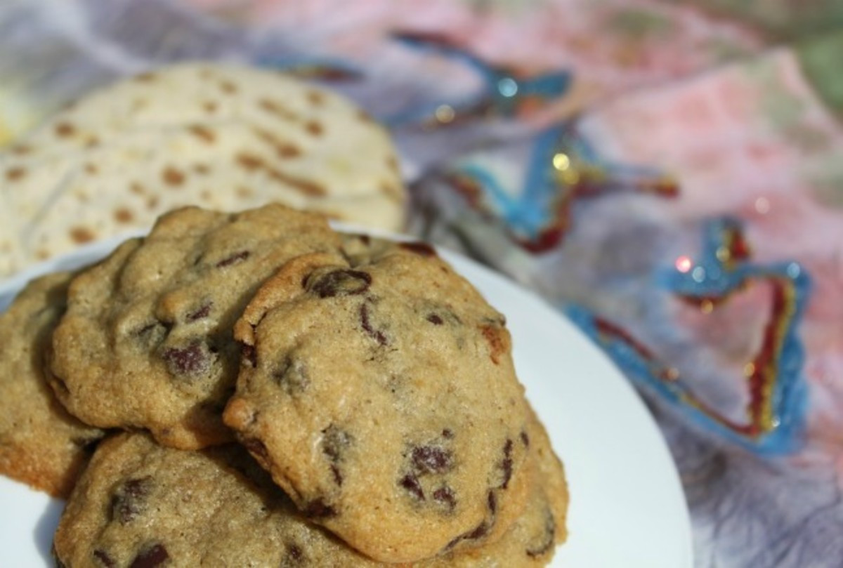 Passover Chocolate Chip Cookies  almond butter chocolate chip cookies passover