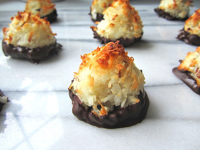 Passover Coconut Macaroons  Passover Coconut Almond Macaroons