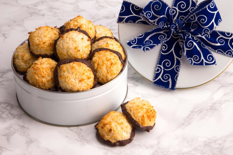 Passover Coconut Macaroons  Passover Coconut Macaroon Gift Tin