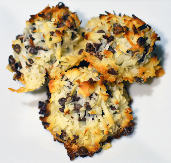 Passover Coconut Macaroons  Passover Coconut Macaroons Chef Times Two