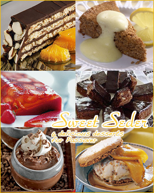 Passover Desserts Easy  Six Delicious Passover Desserts Second City Soiree