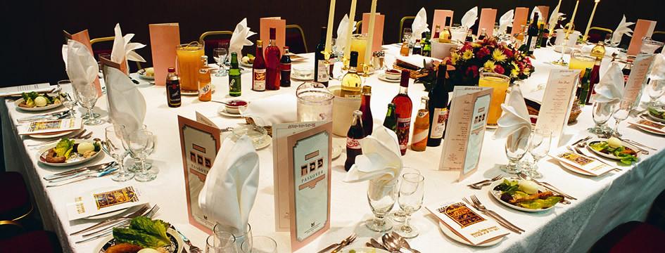 Passover Dinner Menus  Pesach