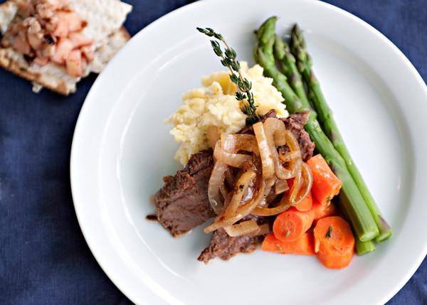 Passover Dinner Recipes  Passover Brisket Baked Bree