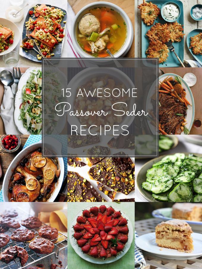Passover Dinner Recipes  15 Favorite Passover Seder Recipes