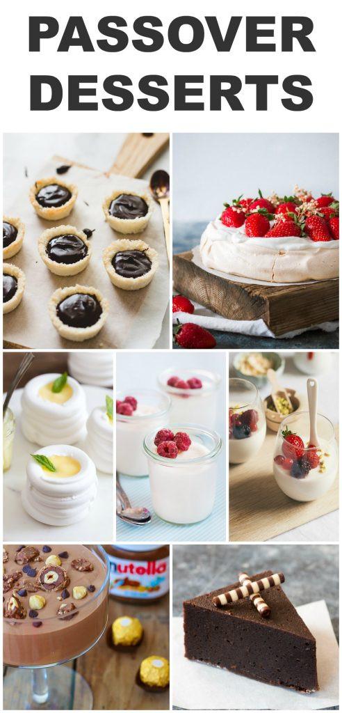 Passover Easy Desserts  Gluten Free Passover Desserts Pretty Simple Sweet