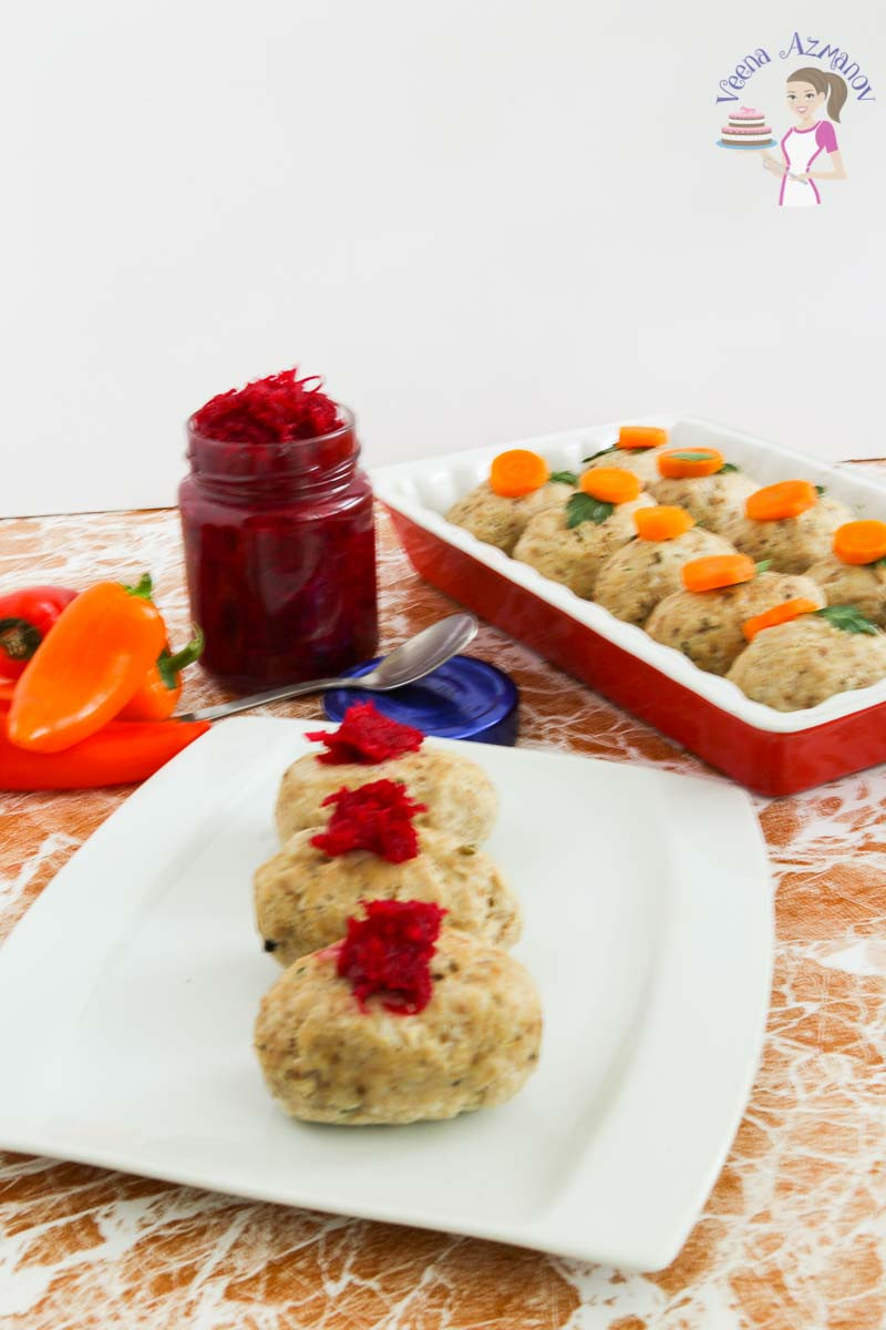 Passover Fish Recipes  Gefilte Fish Recipe with Beet Horseradish for Passover