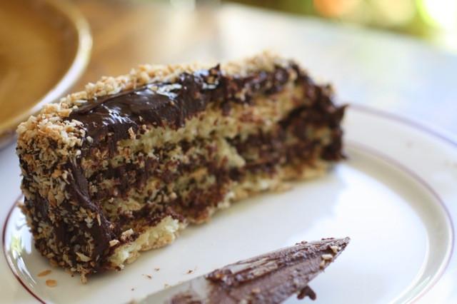 Passover Flourless Chocolate Cake  Flourless Chocolate Coconut Cake