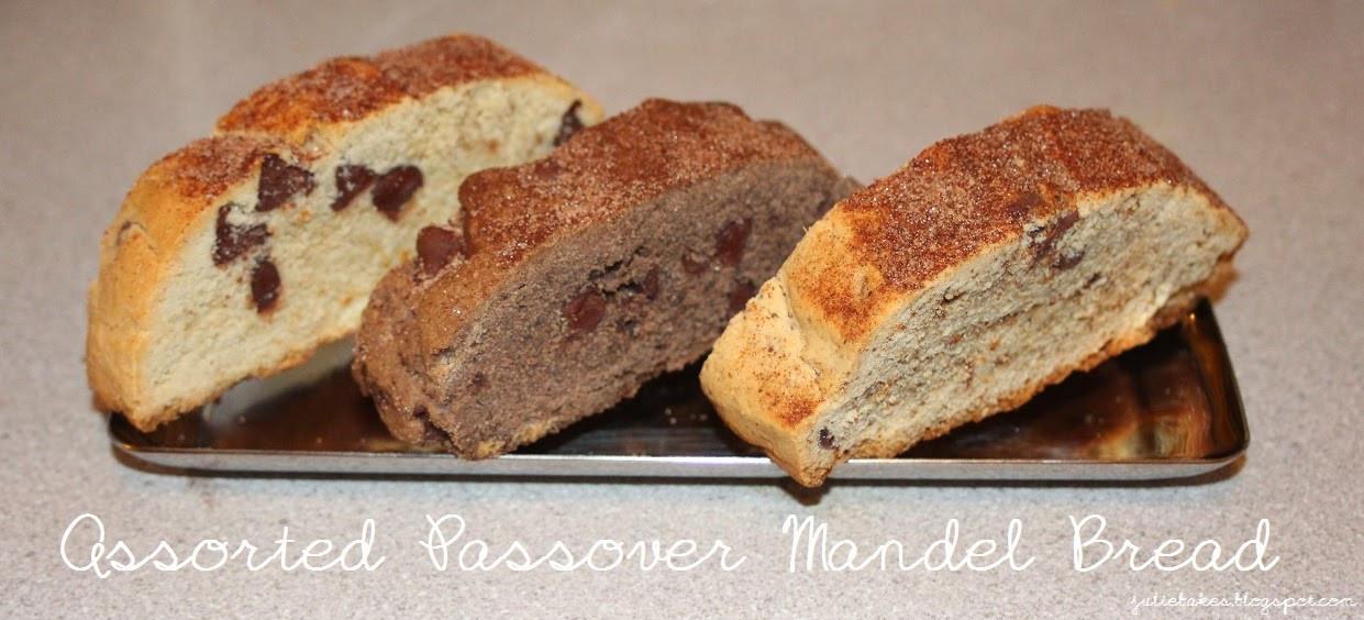 Passover Mandel Bread Recipe  Julie Bakes Passover mandel bread