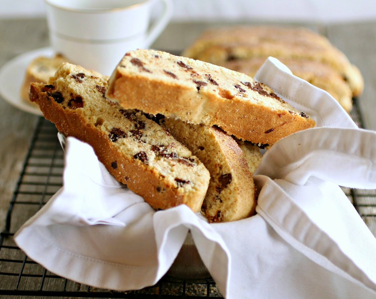 Passover Mandel Bread Recipe  kosher for passover chocolate chip mandel bread
