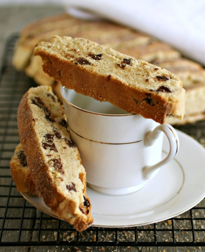 Passover Mandel Bread Recipe  Hungry Couple Passover Chocolate Chip Mandel Bread