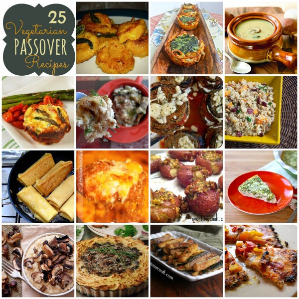 Passover Recipes Vegetarian  25 Ve arian Passover Recipes