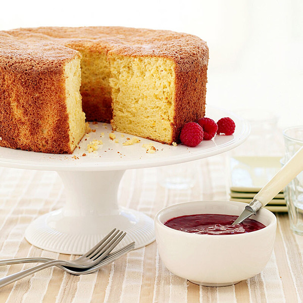 Passover Sponge Cake Recipe  WeightWatchers Weight Watchers Recipe Orange