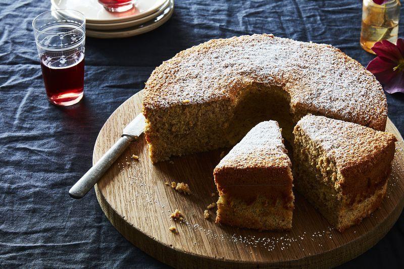 Passover Sponge Cake  For Lighter Never Dry Sponge Cake Try Tiger Nut Flour