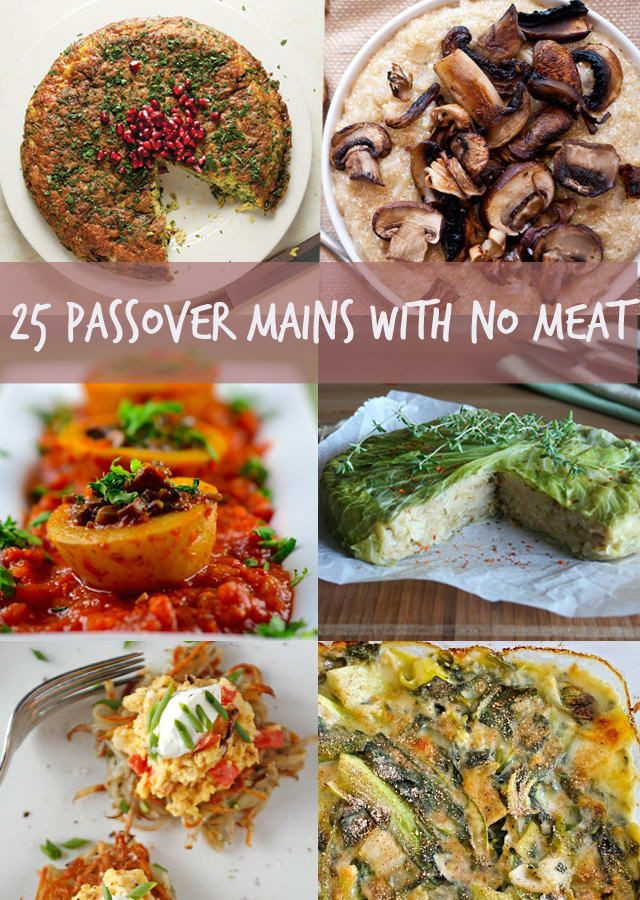 Passover Vegetarian Recipes  35 best images about Passover on Pinterest