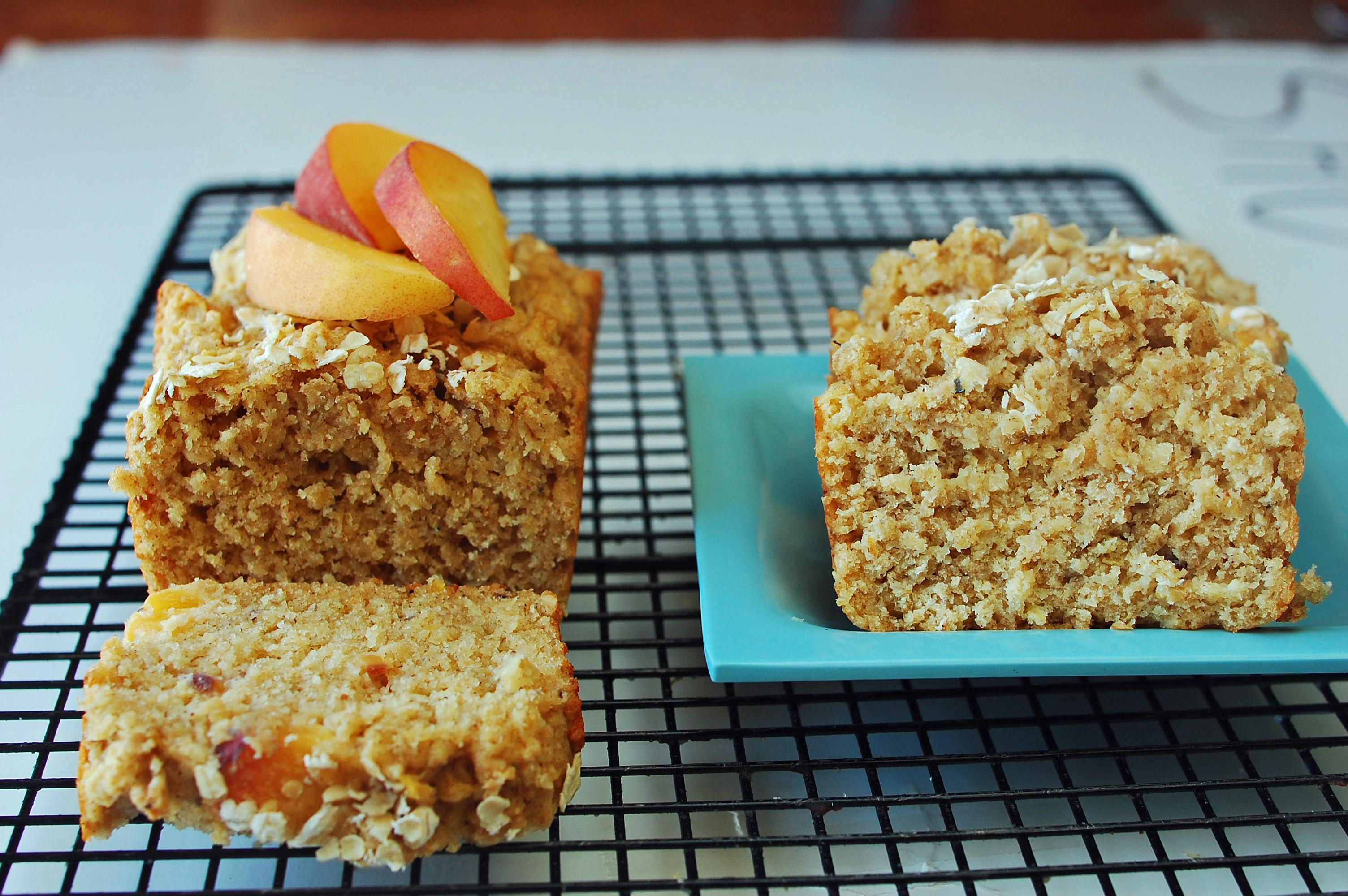 Peach Recipes Healthy  Peach Crisp Bread Recipe