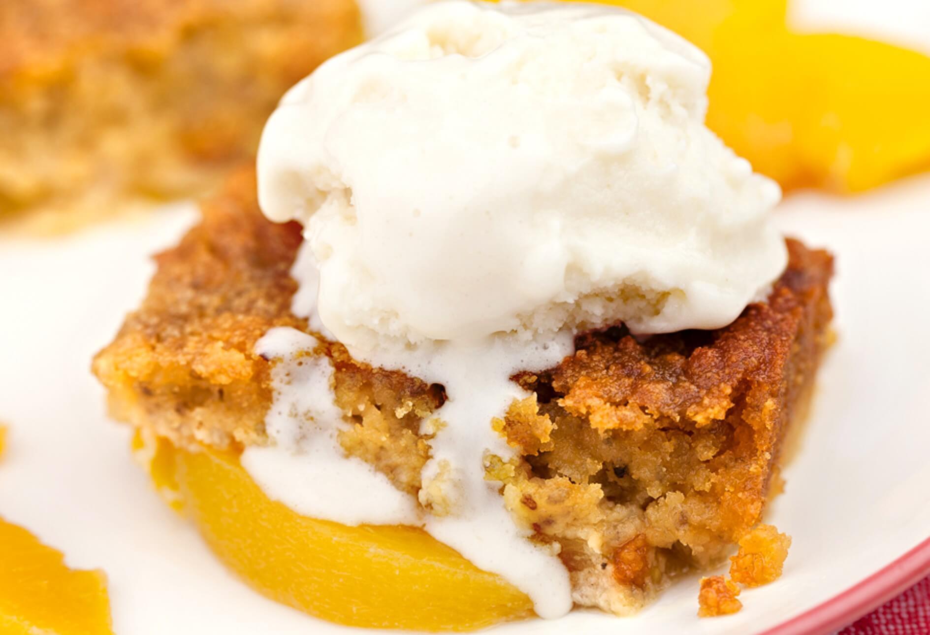 Peach Recipes Healthy  Peach Cobbler Recipe DrAxe