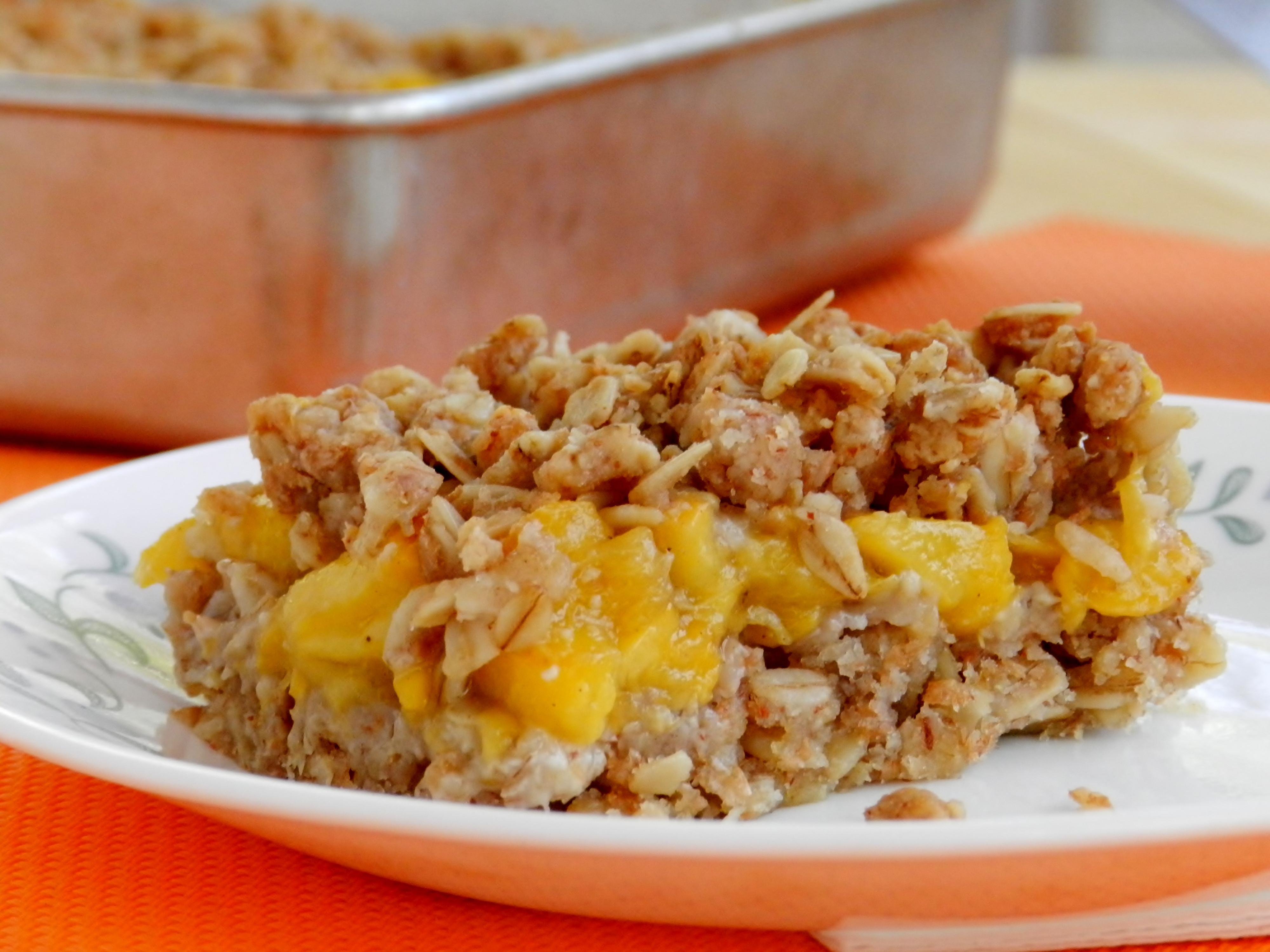 Peach Recipes Healthy  healthy peach recipes