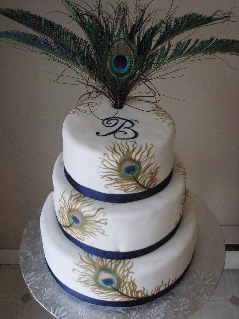 Peacock Themed Wedding Cakes  Peacock Cakes – Decoration Ideas