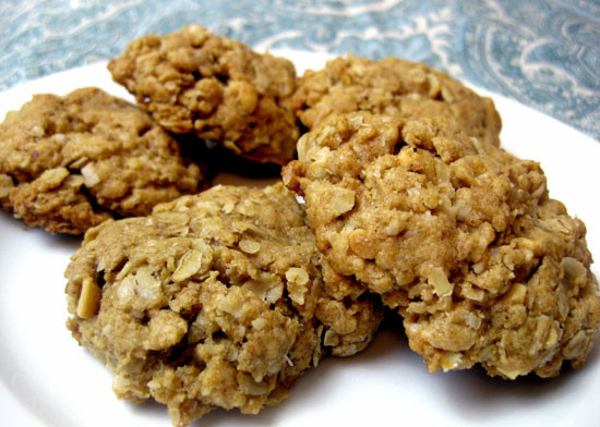 Peanut Butter Oatmeal Cookies Healthy  Healthy yes healthy Fall Inspired Desserts