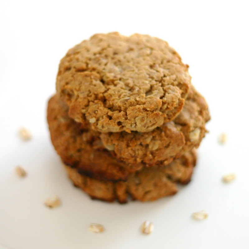 Peanut Butter Oatmeal Cookies Healthy  Desserts With Benefits Healthy Peanut Butter Oatmeal