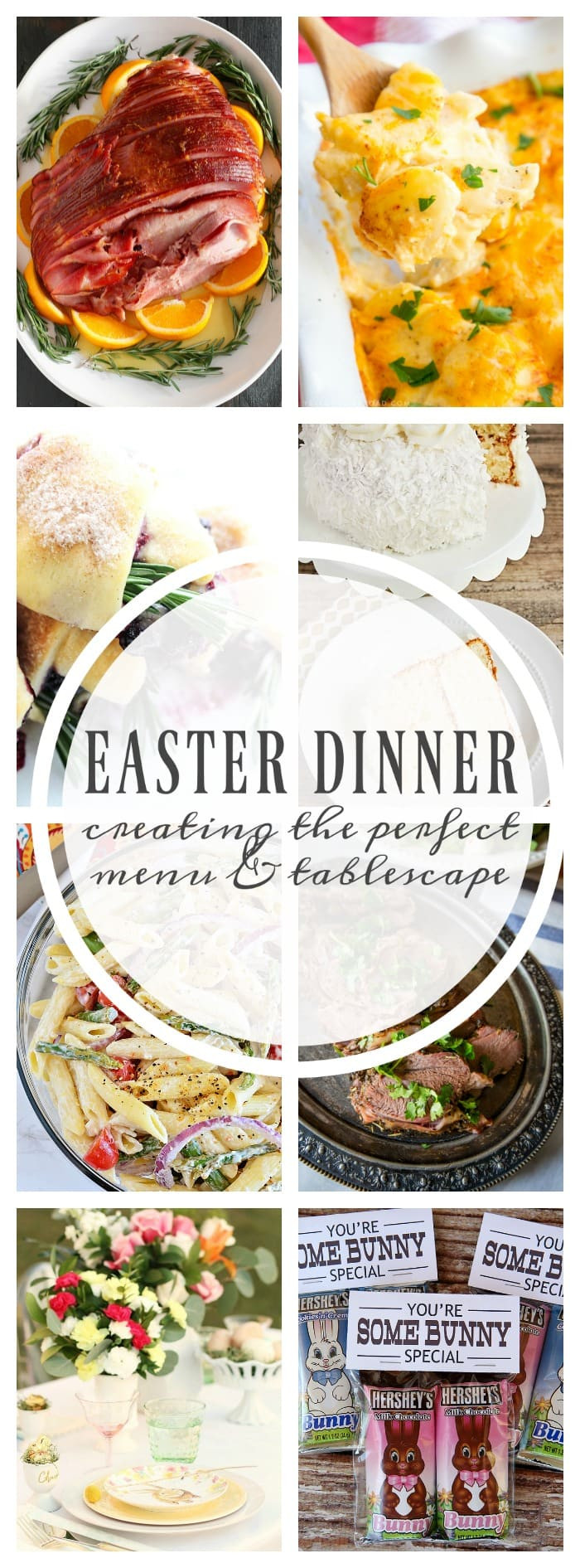 Perfect Easter Dinner Menu  EASTER DINNER CREATING THE PERFECT MENU & TABLESCAPE A