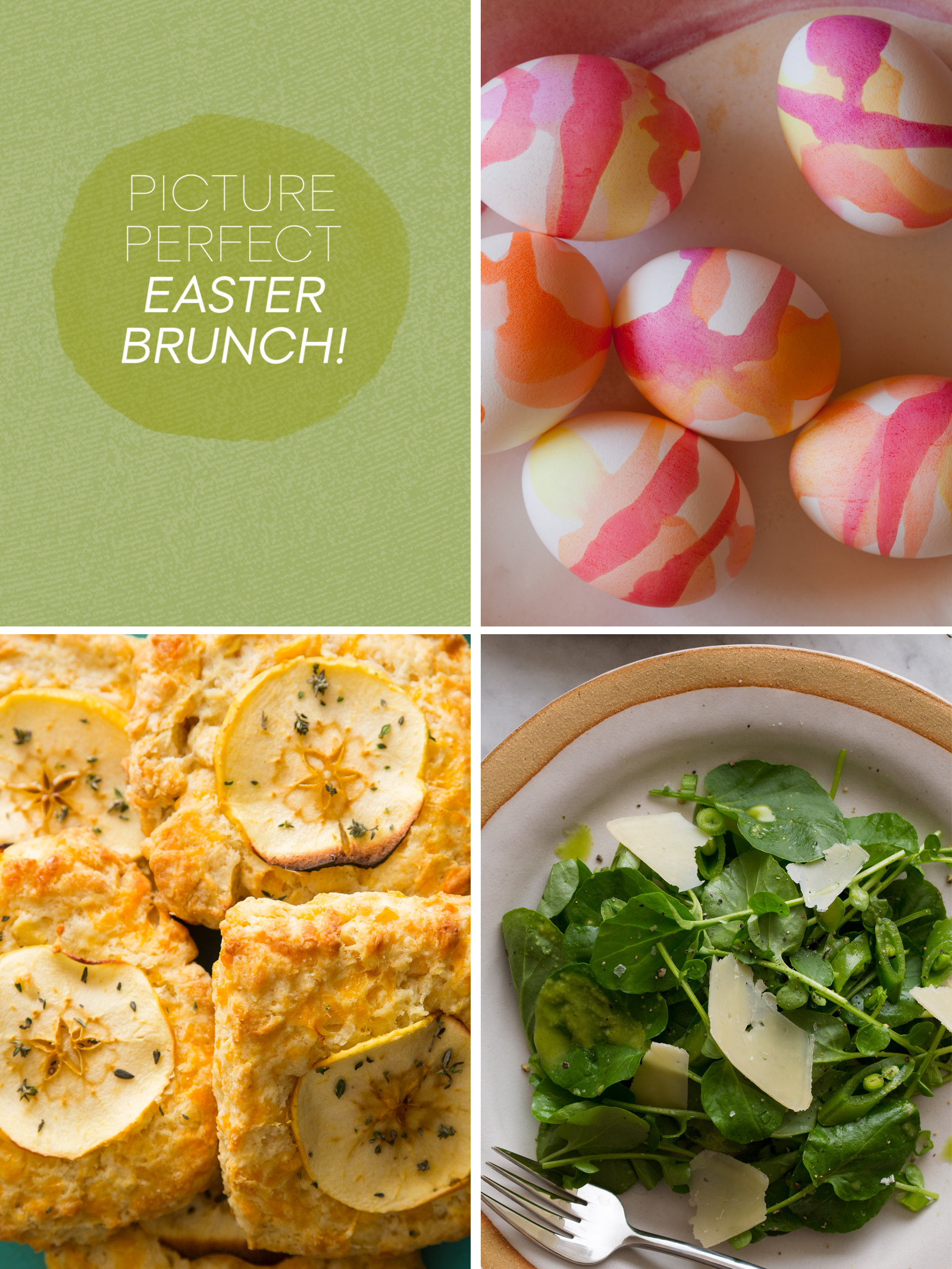 Perfect Easter Dinner Menu  Picture Perfect Easter Brunch