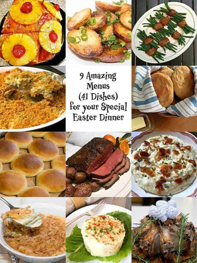 Perfect Easter Dinner Menu  9 Amazing Menus for Your Special Easter Dinner The Pudge