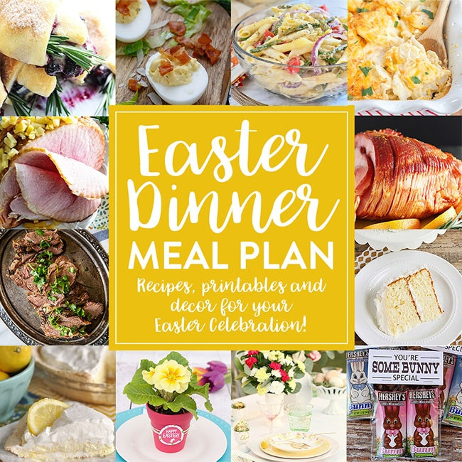 Perfect Easter Dinner Menu  Easter Meal Plan to Create the Perfect Holiday Menu