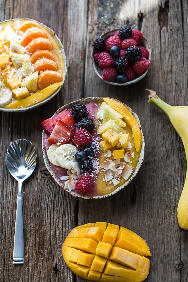 Perfect Healthy Breakfast  7 Simple Smoothie Bowls Everyday Good Thinking
