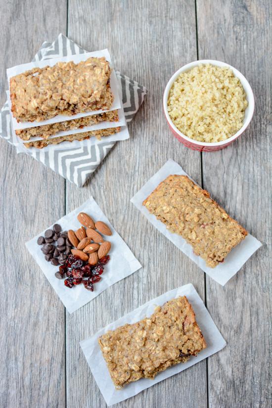 Perfect Healthy Breakfast  Quinoa Breakfast Bars