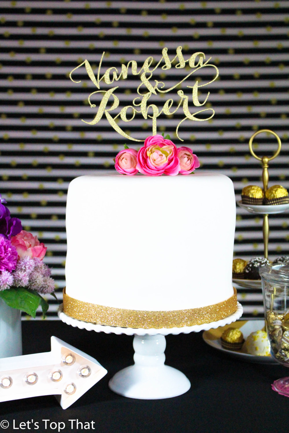 Personalized Cake Toppers For Wedding Cakes  Custom Cake Topper Wedding Cake Topper Personalized Cake
