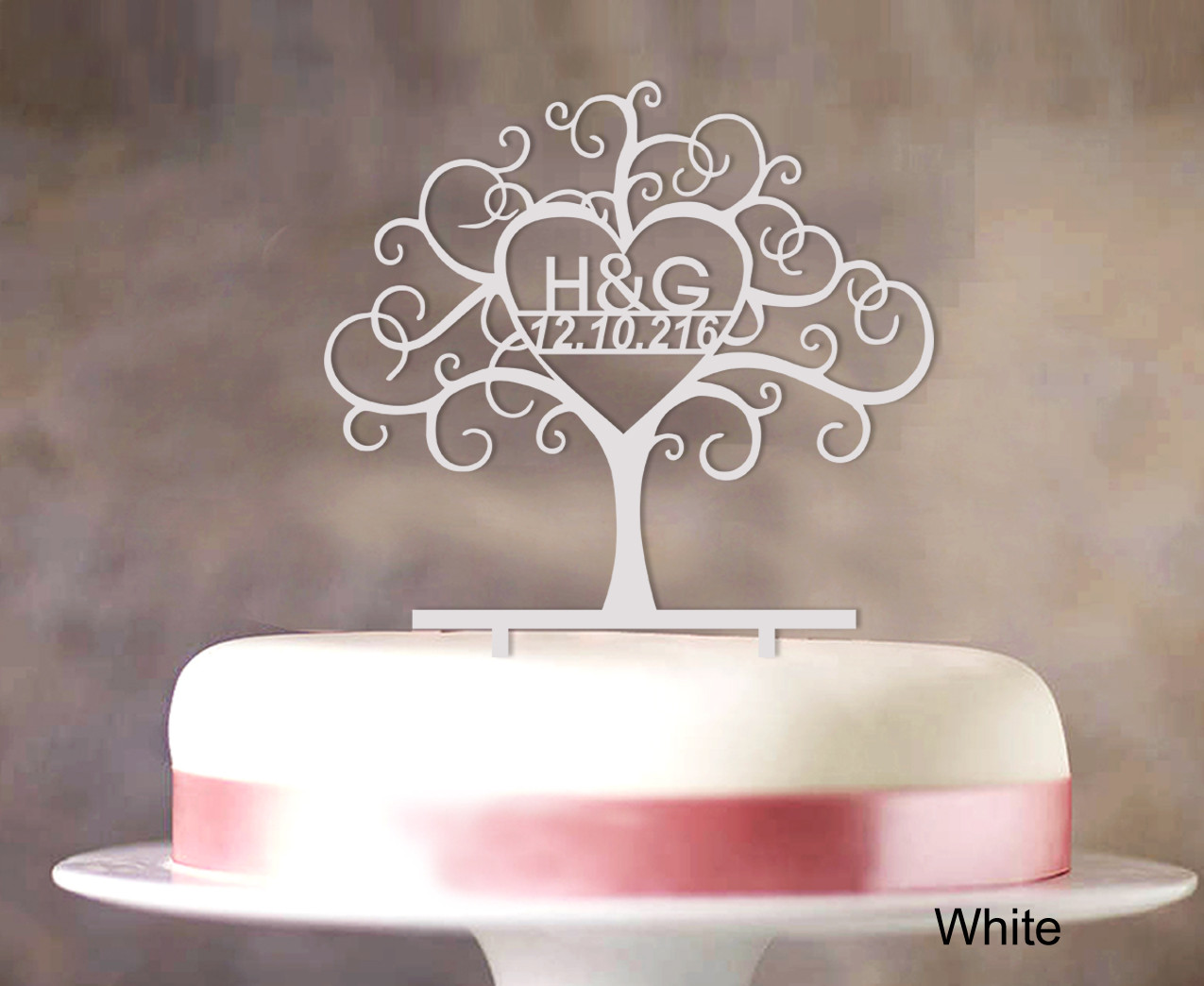 Personalized Cake Toppers For Wedding Cakes  Custom Wedding Cake Toppers Personalized First And Last