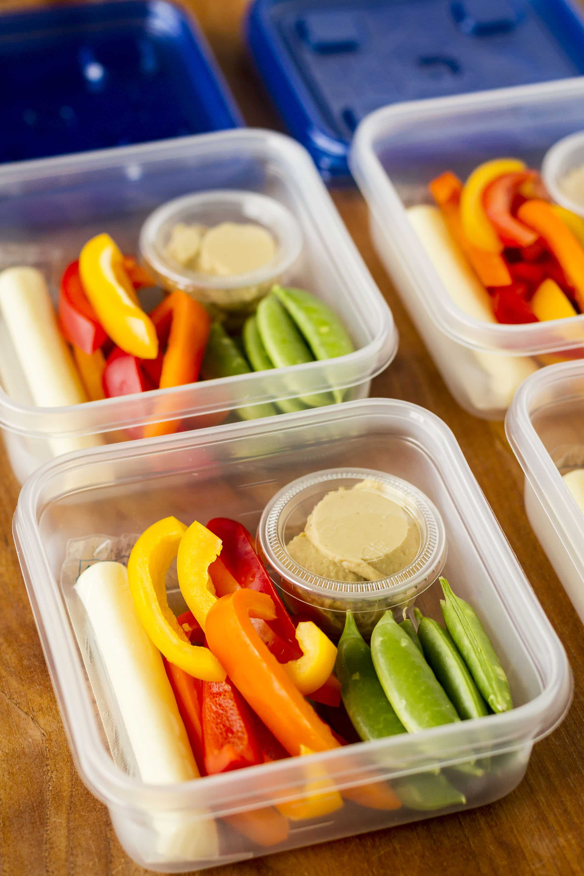 Pictures Of Healthy Snacks  Hummus Snack Idea