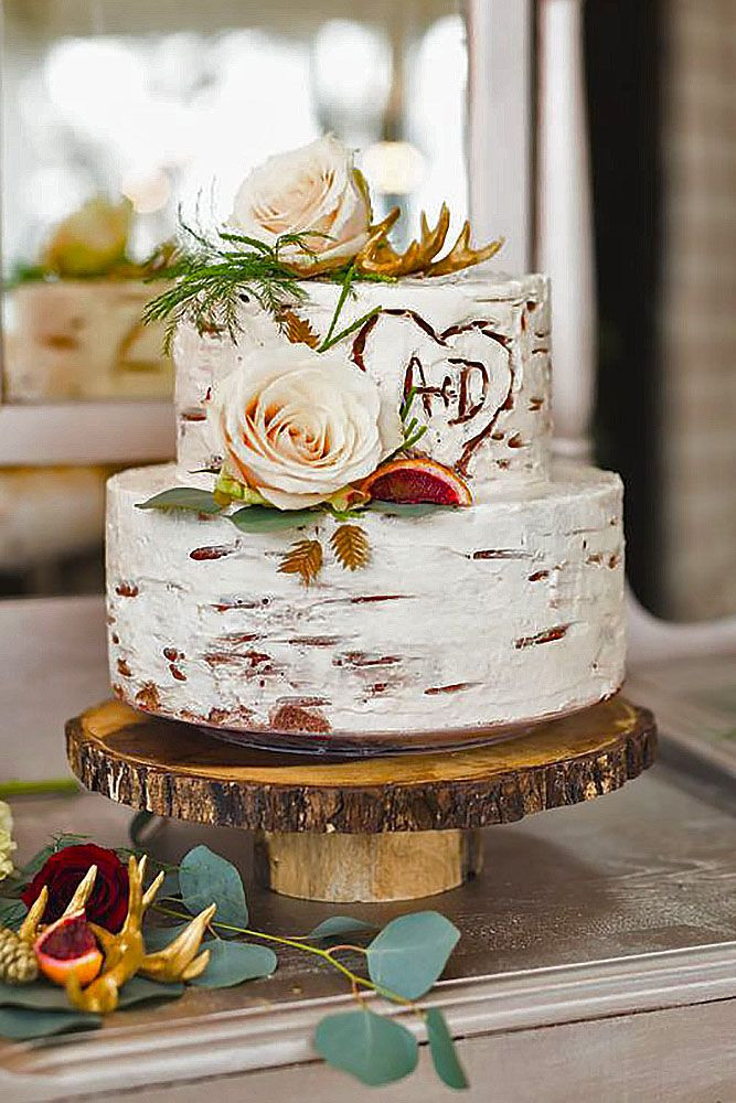 Pictures Of Small Wedding Cakes  30 Small Rustic Wedding Cakes A Bud
