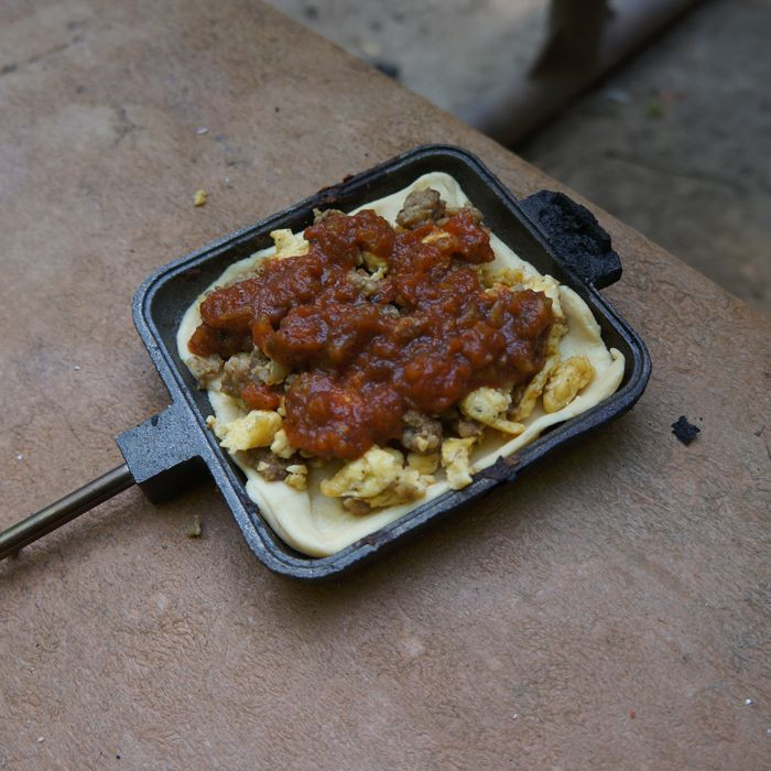 Pie Iron Recipes Camping  105 best Pie Iron Recipes images on Pinterest