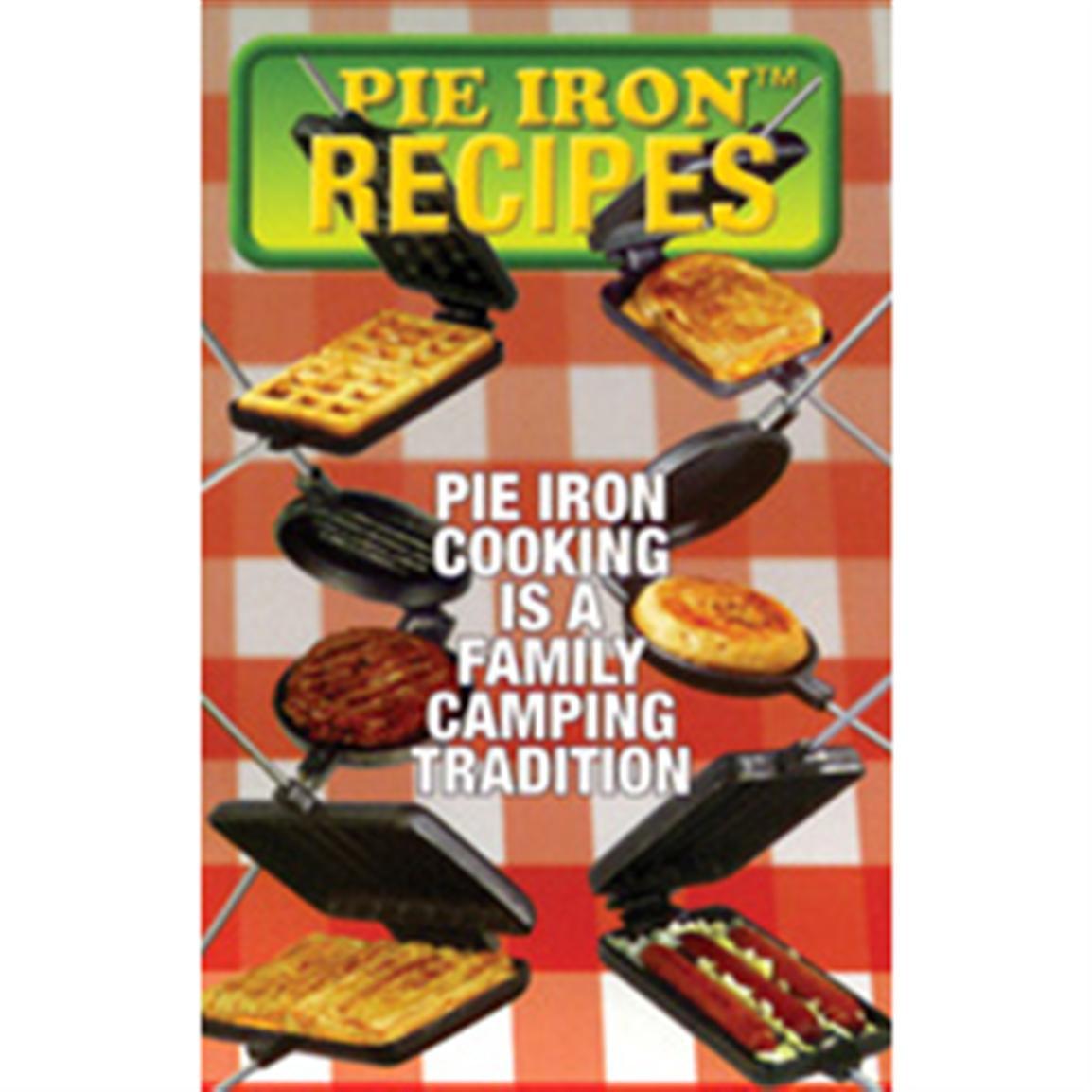 Pie Iron Recipes Camping  Rome Pie Iron Recipe Book RV Kitchen at