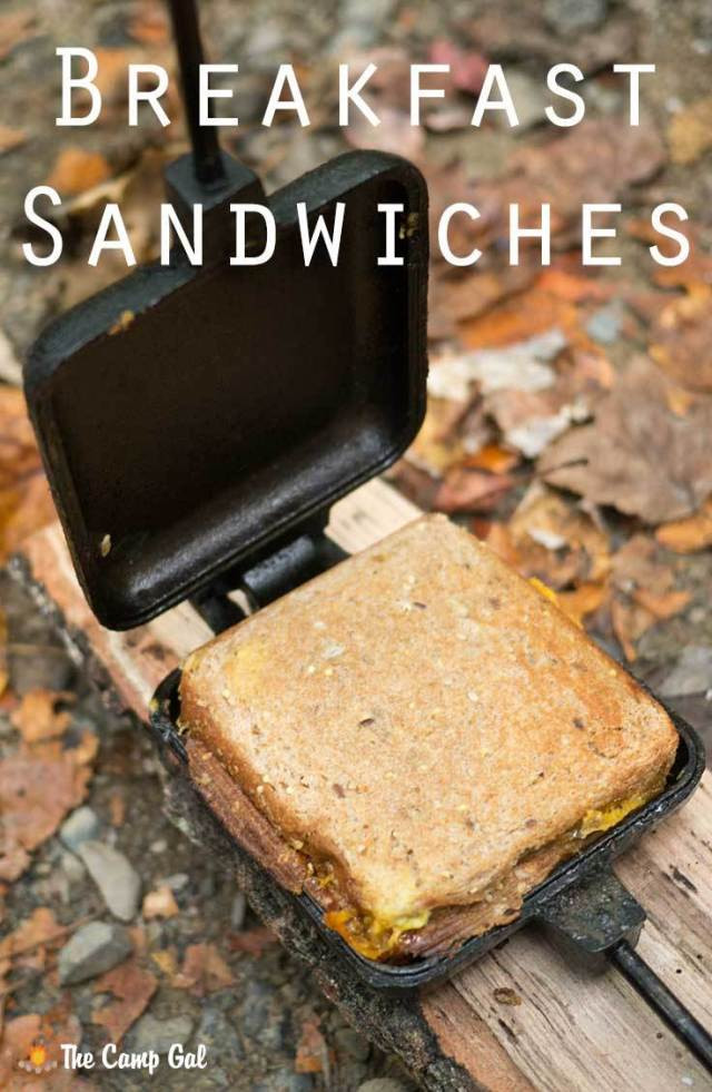 Pie Iron Recipes Camping  Pie Iron Breakfast Sandwiches – The Camp Gal